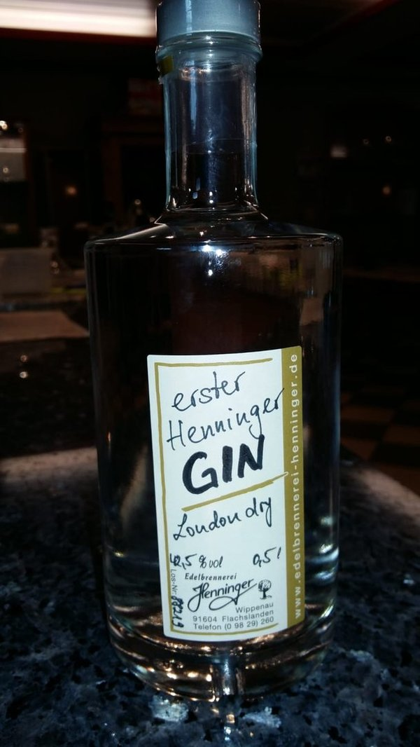 Henninger GIN London dry   42,5%